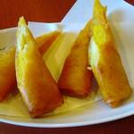スィートポテト&バナナの春巻き